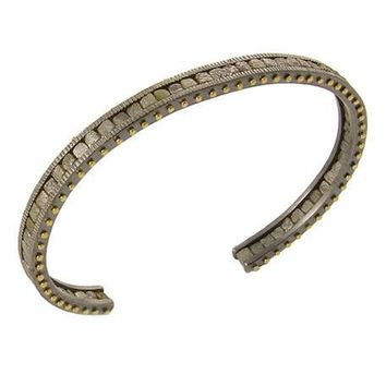 Todd Reed Raw Diamond Cuff Bracelet