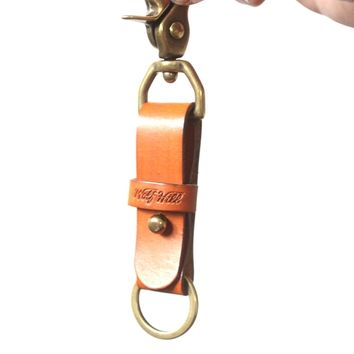 Wolf Hill Brand - Leather Key Fob