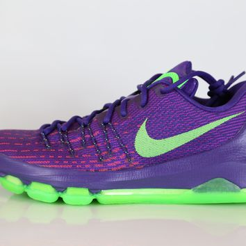 BC AUGUAU Nike KD 8 Suit Court Purple Green 749375-535