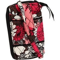 Vera Bradley Carry It All Wristlet in Mocha Rouge