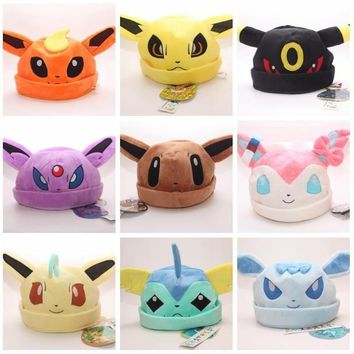 eeveelution winter hats