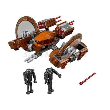 Star Wars Force Episode 1 2 3 4 5 BELA 10370 Building Blocks Sets  Attack Of Clones Hailfire Droid Exclusive Bricks Toys For Children Learning Gifts AT_72_6