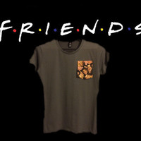 Friends pocket tee