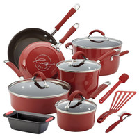 Rachael Ray 14 Piece Set-Red