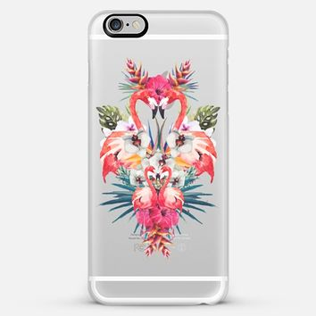 Tropical Flamingos iPhone 6 Plus case by Eleaxart | Casetify