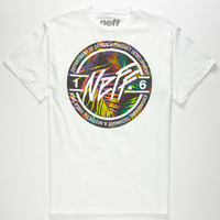 Neff Stamp Mens T-Shirt White  In Sizes