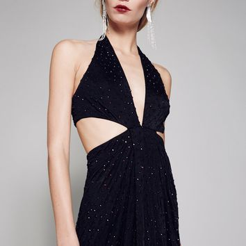 Free People Midnight Hour Maxi Dress