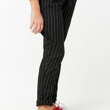 Girls Pinstripe Pants (Kids)