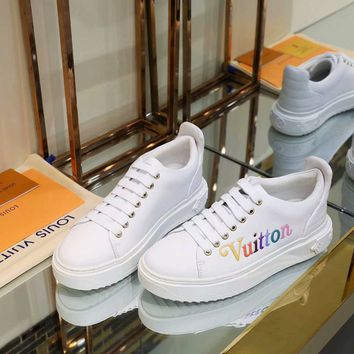 Louis Vuitton LV Women Fashion Breathable Sneakers Sport Shoes