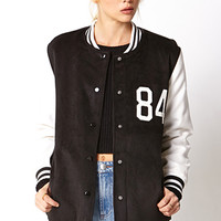 Borrowed-From-The-Boys Varsity Jacket