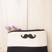Limited Edition Mr. Moustache Pencil Case