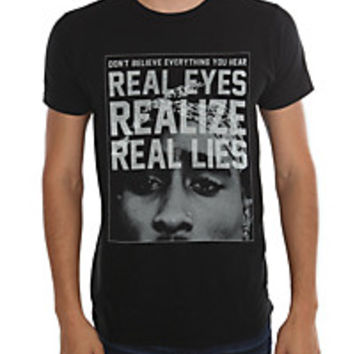 Tupac Real Lies T-Shirt | Hot Topic