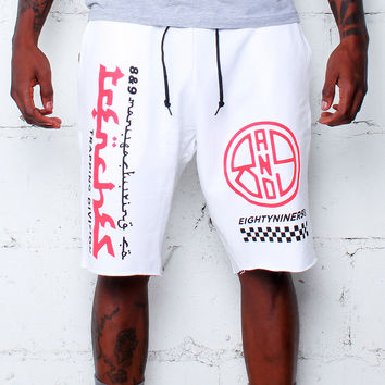 Trap Division French Terry Shorts Infrared