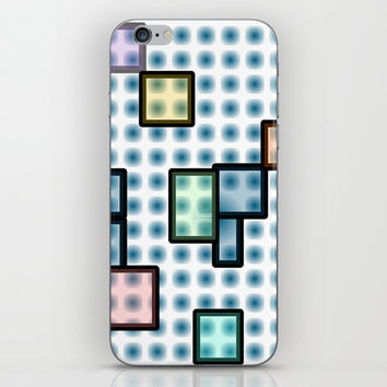 zappwaits glass iPhone Skin by netzauge