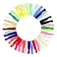 Kitsch Ponytail Holders (50-pack) (Girls)
