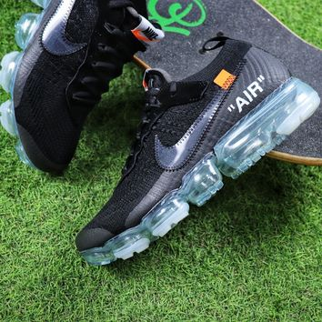 cd6f128bb30b Best Online Sale OFF WHITE x Nike Custom Air VaporMax 2.0 OW Spo