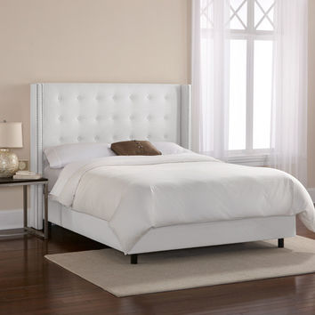 Mercer41 Kipp Upholstered Panel Bed & Reviews | Birch Lane