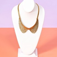 Button Up Collar Necklace