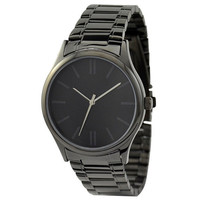 Indistinct Watch (Black) with metal band