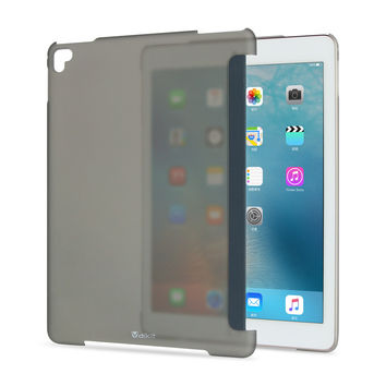 For Apple  ipad pro 9.7 inch Transparent Clear Protective hard shell Case back cover compatible with apple smart keyboard