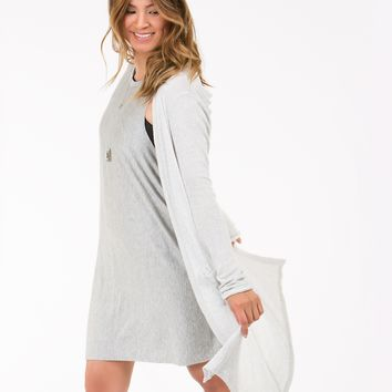 Joah Brown Easy Peasy Tunic in Grey