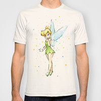 Fairy Watercolor T-shirt by Olechka