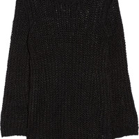 MiH Jeans Bell open-knit linen sweater – 70% at THE OUTNET.COM