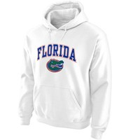 Florida Gators Midsize Arch Pullover Hoodie - White