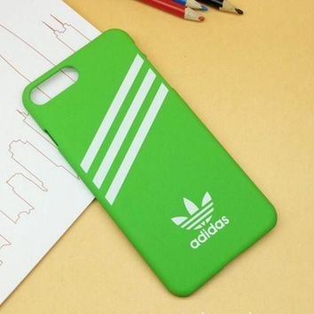 PEAPDQ7 Green Adidas Print Case For Iphone 7 7plus & 6 6s Plus + Gift Box