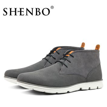 *Online Exclusive* Casual Suede Boots