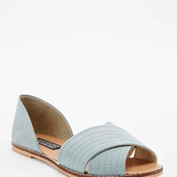 Deena & Ozzy Jada Vamp Flat Shoes in Mint - Urban Outfitters