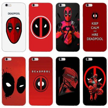 Deadpool Dead pool Taco Marvel  logo slim silicone Soft phone case For LG G2 G3 mini spirit G4 G5 G6 K4 K7 K8 K10 2017 V10 V20 AT_70_6