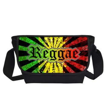 2017 Reggae Bob Marley Character Printing Messenger Bags Cool 3D Men's Travel Bags Men's Travel Shoulder Bags Music Fans Gifts
