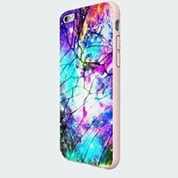 Galaxy Nebula for All Cracked Custom Case for Iphone 5/5s/6/6 Plus (White iPhone 6)