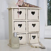 little heart drawers chest by this is pretty | notonthehighstreet.com