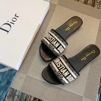 Dior Flat bottom slippers 6 colors