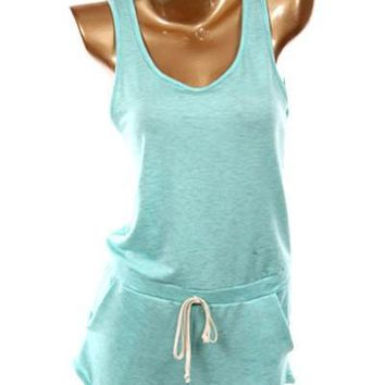Sing For Me Mint Romper