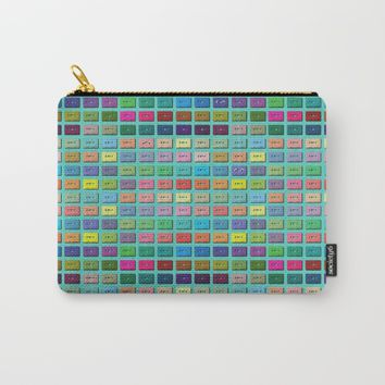 Wall of Sound Carry-All Pouch by picturing juj