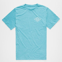 Volcom A Frame Mens T-Shirt Atlantic Blue  In Sizes