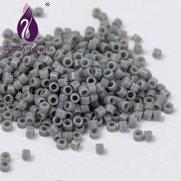 Delica Tube Loose Beads Japanese Seed Beads 11/0 Gery Delicate Frosted Opaque Glass Beads 1.6MM 10g/lot about 2000pcs