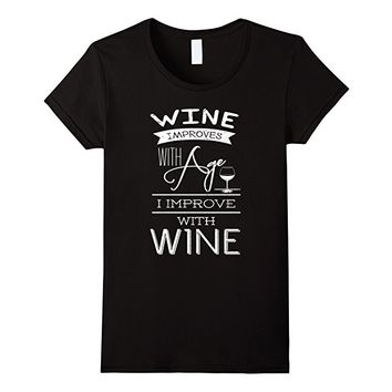 Improve With Wine T-shirt