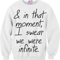 & In That Moment Crewneck from Wonderwall
