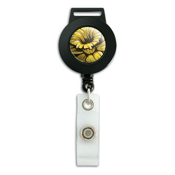 Daffodil Retractable Badge Card ID Holder