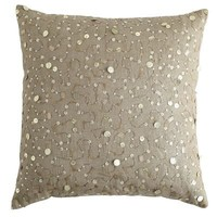 Metallic Linen Sequin Pillow