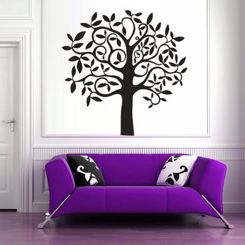 Wall Vinyl Sticker Decals Decor Art Bedroom Design Mural Kids Tree (z363)