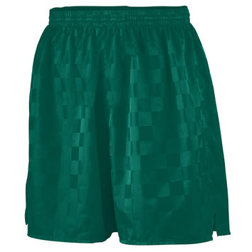 Augusta 430 Long Checkerboard Nylon Short - Forest
