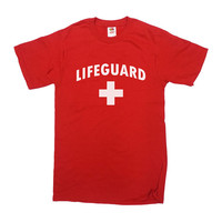 Lifeguard Shirt Swimming Pool T-Shirt Safety Patrol Staff TShirt Water Park Beach Patrol Lake Security Pool Mens Ladies Unisex Tee - SA324