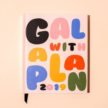 Gal With A Plan 2019 Planner
