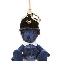 BURBERRY - Bobby Thomas Bear check cashmere keying | Selfridges.com