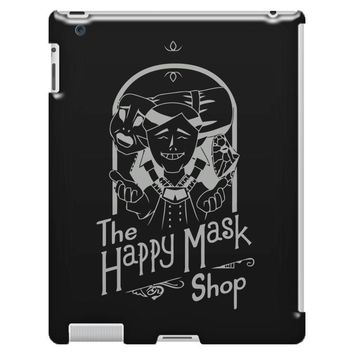 happy mask store iPad 3 and 4 Case